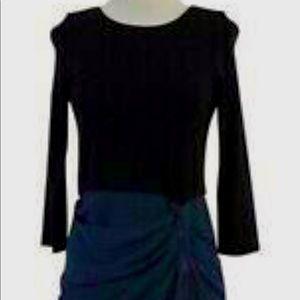 Alice Olivia drape dress new with tags